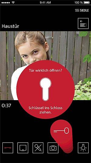 Siedle - Türöffner per App